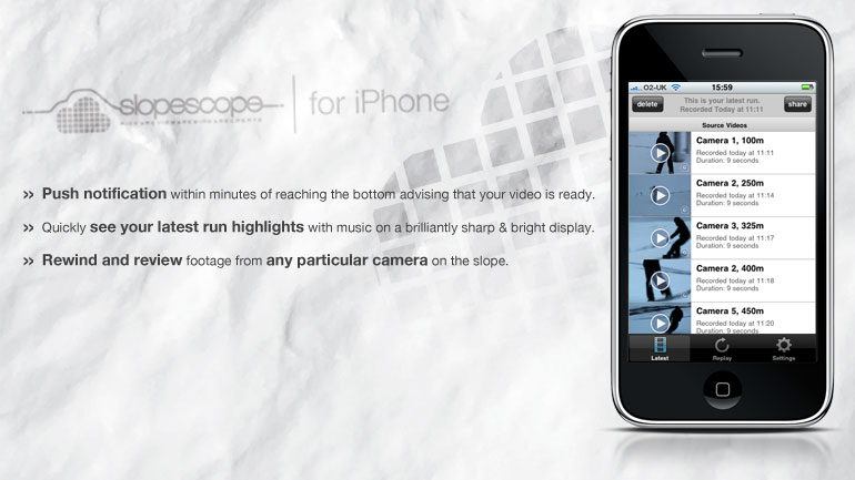 iphone 6. SlopeScope for iPhone